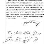 Atatürk İmzalı Kararnameler 1