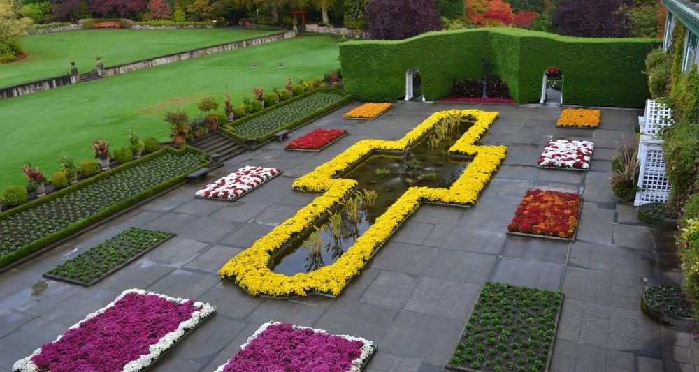 Hem Doğa Hem Ekonomiye Hazandırmanın En Güzel Örneklerinden Butchart Gardens